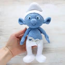 smurf knitting pattern crochet smurf amigurumi pattern printable pdf