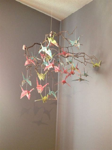 origami baby mobile 17 best images about origami paper crane mobiles on