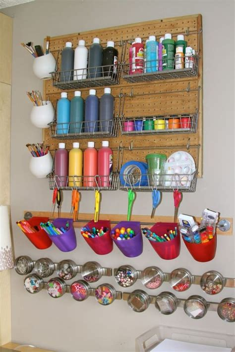 how to organize crafts 40 ideas to organize your craft room in the best way