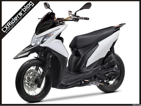 Modif Motor Matic Beat F1 by Konsep Modifikasi Honda Beat Fi Matic Motard D