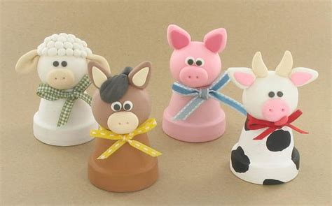 polymer clay crafts for 4 barnyard polymer clay ideas favecrafts