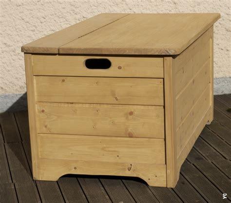comment fabriquer un coffre de jardin en bois
