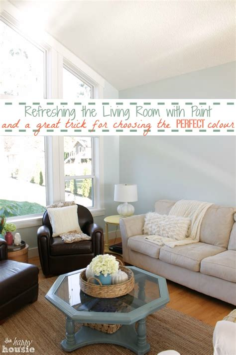 happy paint colors for living room refreshing the living room with paint a great trick for