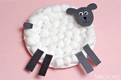 sheep crafts for animal themed easter crafts for