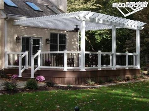 vinyl pergola kit vinyl pergolas attached to house this white vinyl pergola