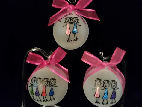 friendship ornaments friends personalized ornament best friends by