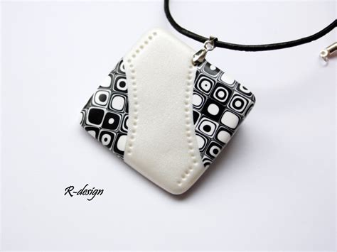 jewelry clay polymer clay jewelry polymer clay necklace handmade jewelry