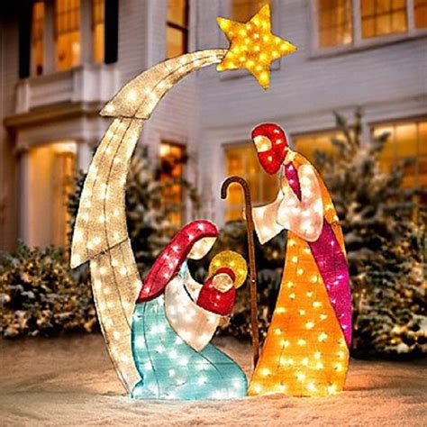 decorations nativity outdoor decor ideas home designing