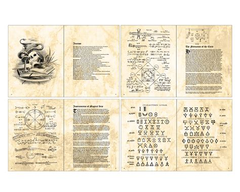 printable pictures of books artist loft free printable doll spell book
