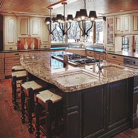 kitchen island rustic colorado rustic kitchen gallery jm kitchen denver
