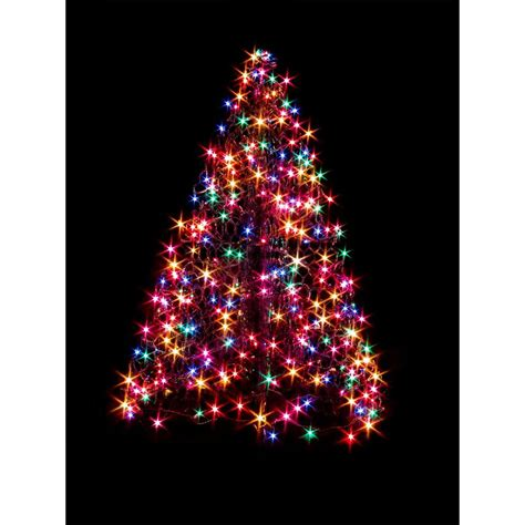 lighted trees for outside outdoor decorations