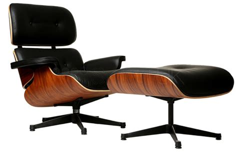 Eames Lounge Chair And Ottoman Replica by Charles E Style Lounge Chair And Ottoman Style