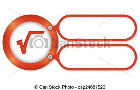 s mbolo ra z cuadrada vector rojo marcos cuadrado ra 237 z s 237 mbolo stock de