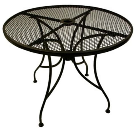 wrought iron patio dining table outdoor tables from richardson seating corp
