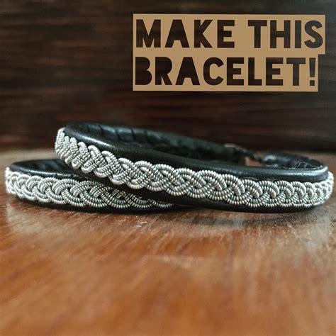 How To Make A Sami Bracelet Saami Supplies