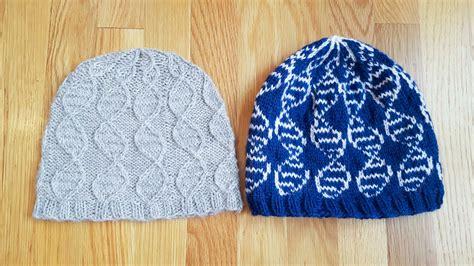 knitting colorwork chemknits geneie knitting pattern colorwork version