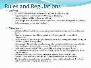 and regulations ppt air program office powerpoint
