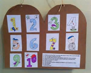 10 commandments for crafts 8 best 10 commandments crafts images on sunday