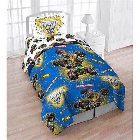jam comforter set jam trucks 4 reversible bedding
