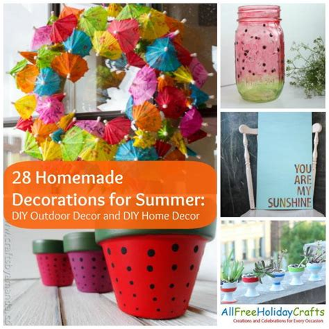 home made outdoor decorations 28 decorations for summer diy outdoor decor and