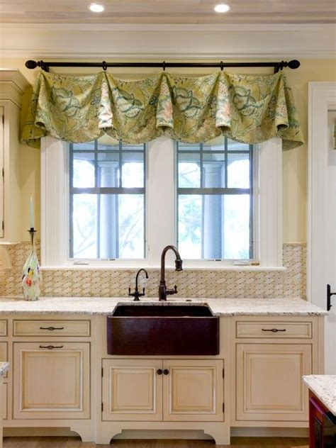 window treatments for kitchen windows sink impressive kitchen window treatment ideas valances