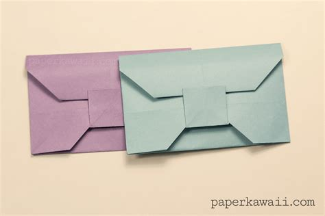 origami envelope square paper traditional origami envelope tutorial paper kawaii