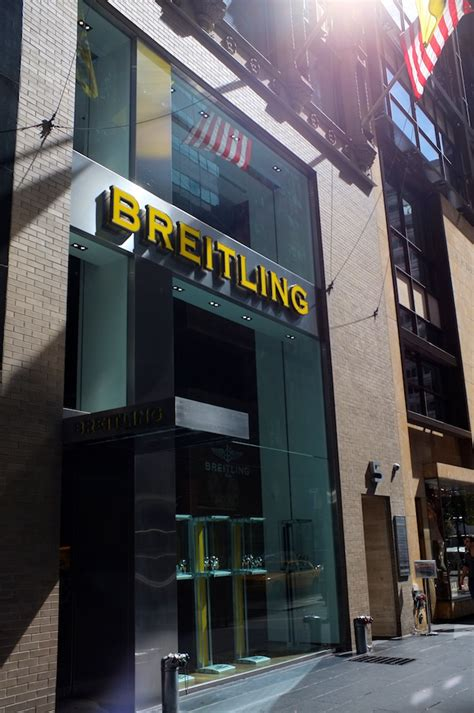 rubber st store nyc shopping breitling s nyc outpost a continuous lean
