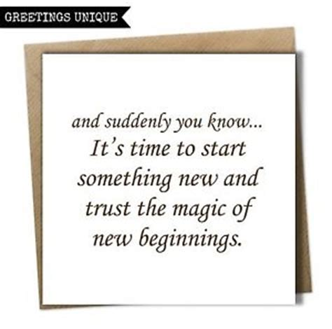 beginning card new beginning fresh start card on your divorce card