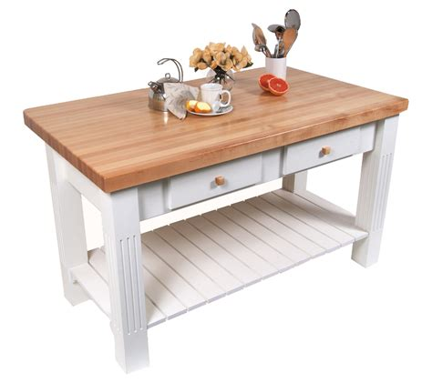 Solid Wood Kitchen Island Cart john boos butcher block tables kitchen islands