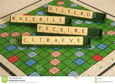 scrabble anagram personal qualities as a scrabble anagram stock images