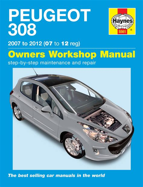 service manual what is the best auto repair manual 2007 suzuki reno auto manual back cover haynes workshop car repair owners manual peugeot 308 petrol and diesel 07 12 ebay