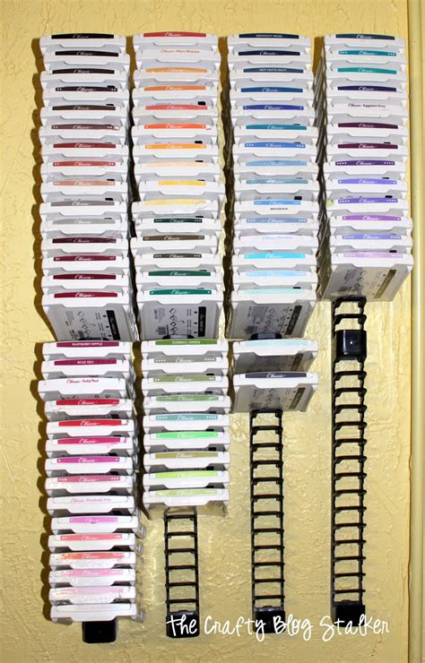craft rubber sts my craft room diy ink paper craft storage in ikea