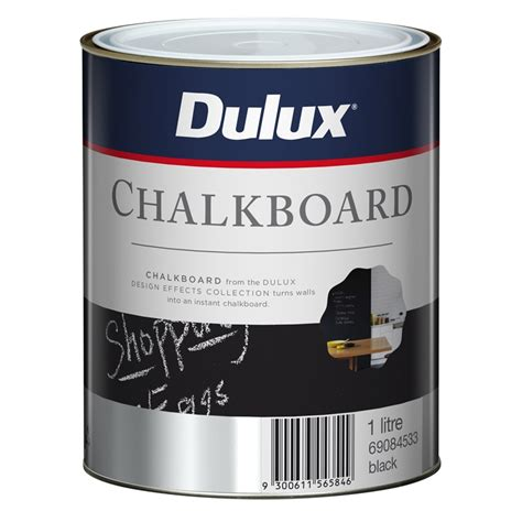 dulux wonderwalls chalkboard paint dulux 1l design black chalkboard paint bunnings warehouse