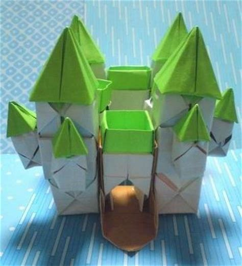 how to make a origami castle 1000 images about origami on origami tutorial
