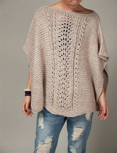 poncho pattern knit in the 25 best ideas about knitted poncho on knit