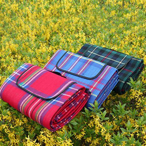 150x200cm cing mat picnic blanket foldable baby climb plaid blanket outdoor waterproof