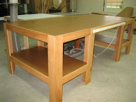 woodworkers table woodworking plans wood shop table pdf plans