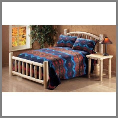 log frame beds king size log bed frame whereibuyit