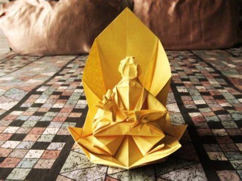 origami buddha origami buddha origami