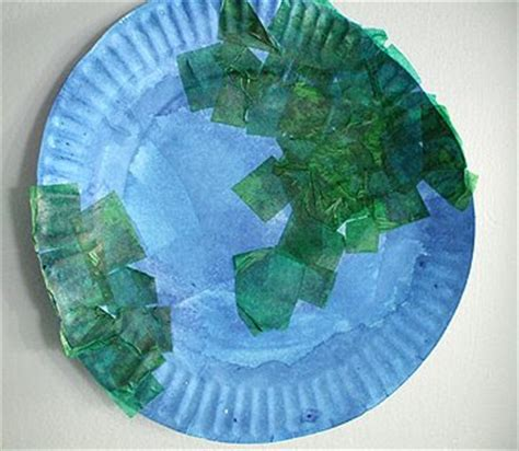 earth day paper crafts preschool crafts for earth day paper plate craft