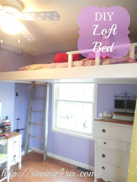 diy loft bed space saving loft beds captivating bunk bed ideas for