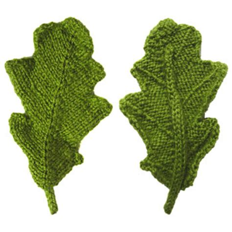 how to knit a leaf shape free knitting pattern leaf simple free