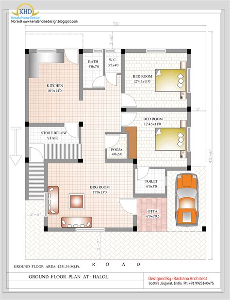house floor plans india duplex house plan and elevation 2349 sq ft home