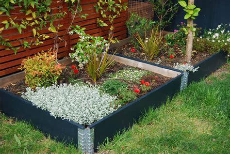 raised flower garden raised garden beds modular stackable planter boxes usa