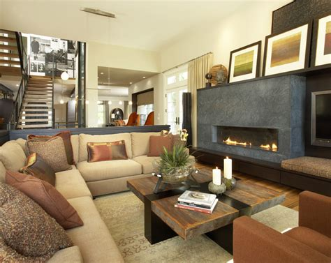 contemporary rooms suburban meets contemporary family room by