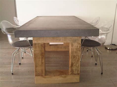 Tafelblad Maken Beton by Betonnen Tafelblad