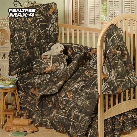 camouflage bedding for cribs realtree camo bedding 3 realtree max 4 crib set