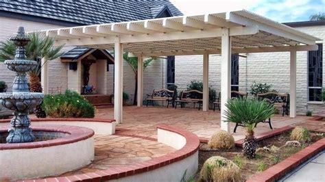 aluminum patio cover free standing lattice style yelp