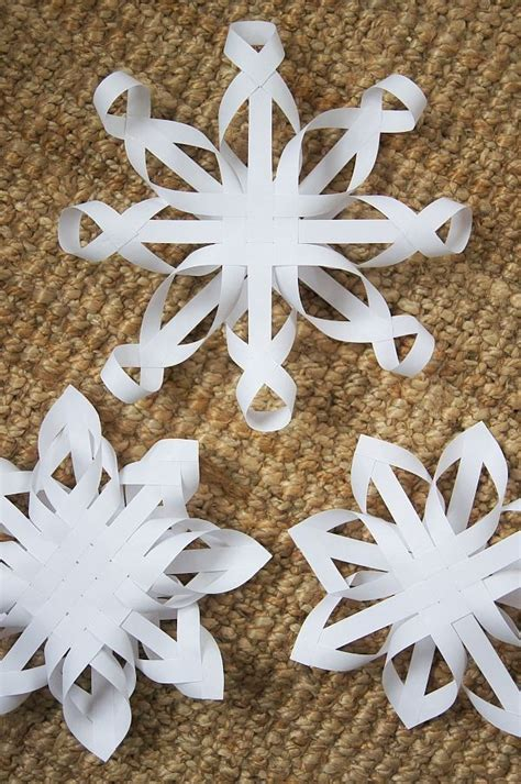 snowflake paper craft 3 d snowflakes how the grinch stole