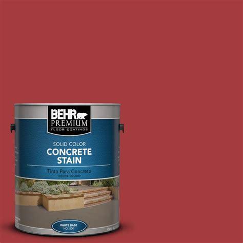 home depot brick paint colors behr premium 1 gal pfc 02 brick solid color concrete